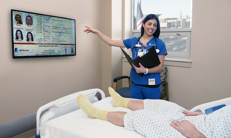 MTR® Electronic Patient Room Board at Jefferson Memorial Hospital